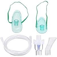 Preisvergleich für Vernebler Set Nebuliser Zubehr Geeignet für alle Maschinen, Inklusive Tube,Maske Inhalator, Kindermaske, Inhalator...