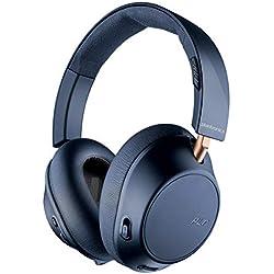 Plantronics BACKBEAT GO 810 Oreillettes Bluetooth, mousse mémoire, sur oreille,bleu-marine
