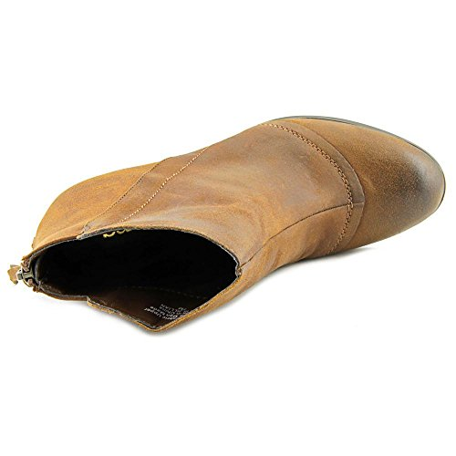 Bar III Jillian Rund Leder Mode-Stiefeletten Mid Brown