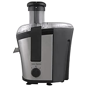 Morphy Richards Juice Xpress 700-Watt Juicer (Silver and Black)