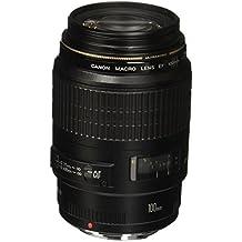 Canon 100 mm f/2.8 MACRO - - Objetivo para Canon (distancia focal fija 100mm, apertura f/2.8, diámetro: 58mm) color negro