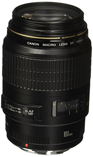 Canon - Macro-objectif - 100 mm - f/2.8 USM - Canon EF