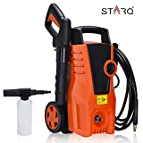 STARO (ISO Certified) Plastic High-Pressure Washer with Soap Gun, 1400 W