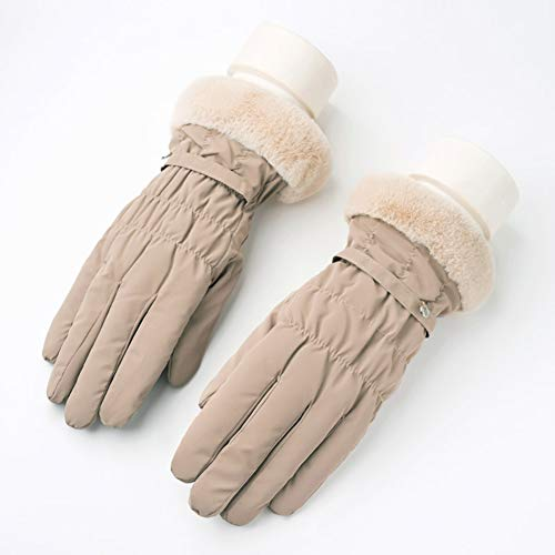 41UK7cKYb7L. SS500  - Gloves Cycling Ski Running Windproof Ms Winter Riding Plus Velvet Thicken Keep Warm Touch Screen ZHAOYONGLI