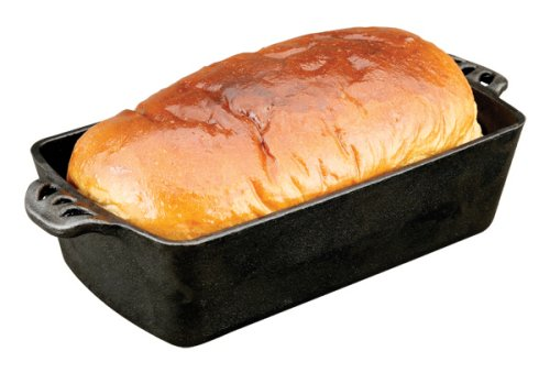Camp Chef Home Seasoned Cast Iron Bread Pan Gourmet-loaf Pan