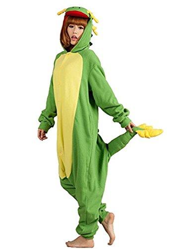 HSTYLE Adulte Unisexe Onesies Kigurumi Pyjamas Animal Costumes de Cosplay de bande dessinée Vêtements de nuit-Dragon