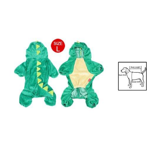 Imagen de sodial r general ropa abrigo de perro faldero perro diseno de dinosaurios disfraz de halloween l alternativa