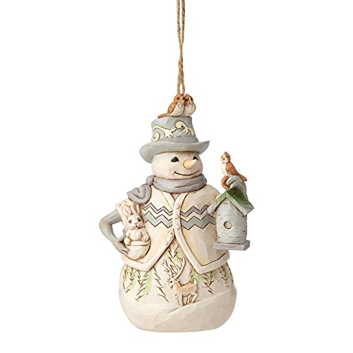 Heartwood Creek Woodland Snowman Hanging Ornament -