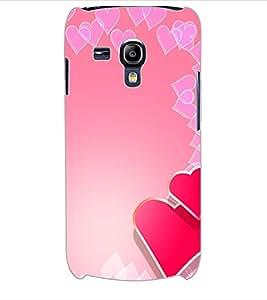 ColourCraft Love Hearts Design Back Case Cover for SAMSUNG GALAXY S3 MINI I8190