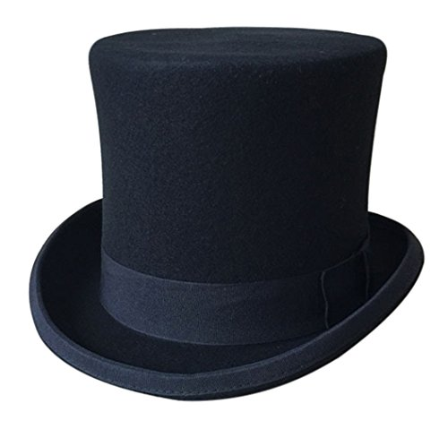 GEMVIE Zylinderhut Magic Partyhüte Erwachsenenhut Hoher Hut für Damen Herren ()