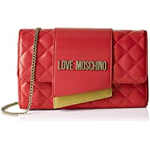 afd3de424d Love Moschino Borsa Quilted Nappa Pu, Tracolla Donna, 6x14x23 cm (W x H