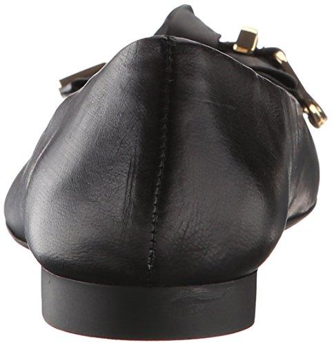 Bella Vita Ozark Femmes Large Cuir Mocassin Black