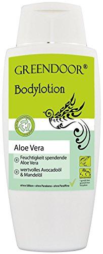 Greendoor Bodylotion Aloe Vera 250ml, Top-Manufaktur-Qualität ohne Silikone