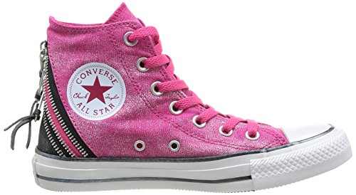 Converse Chuck Taylor All Star Femme Sparkle Wash Tri Zip Hi 382520 Damen Sneaker Pink (Rose)