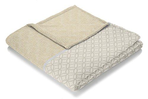 biederlack Metropolitan Decke/Überwurf, Baumwoll-Mischgewebe, Cara, 150x 200cm -