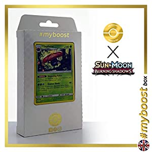 Vileplume 6/147 Holo - #myboost X Sun & Moon 3 Burning Shadows - Box de 10 Cartas Pokémon Inglesas