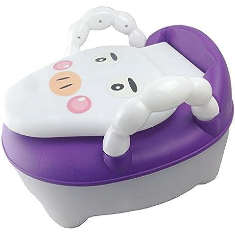 DJ/bambini Backs e cassetti, piedistallo bambino bambino WC WC WC Viola