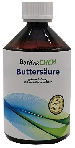 ButKarCHEM Varianten zu a 200ml (1x200ml) Buttersäure Mindestens 99{c10eb8217a9748567bbe5d74110dabdd2bd69652cde878ca068a57ffacdc6c58}