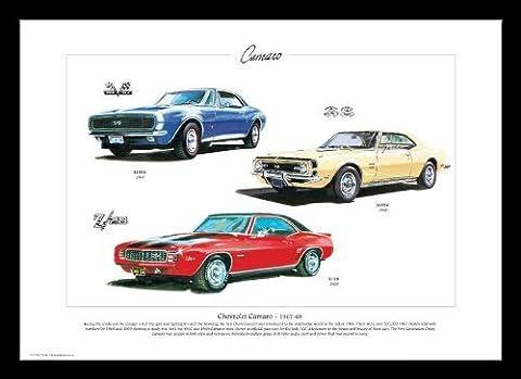 Chevrolet Camaro Imprimé Art–Z/281969Ss39619681967