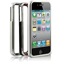 Connection N&C Bumber - Carcasa de aluminio anti-choques para iPhone 4/4S