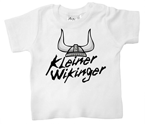 Dirty Fingers, Kleiner Wikinger, Baby Jungen T-shirt, 24-36m, - Kleinkind-shirt Wikinger