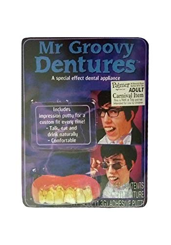 Mr. Groovy-Zähne