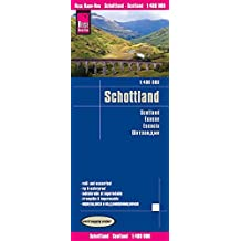 Reise Know-How Landkarte Schottland (1:400.000): world mapping project
