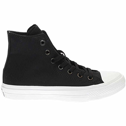 Converse Chuck Taylor All Star II Hi Sneaker Juniors Shoes Size Black