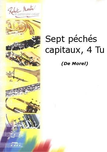 PARTITIONS CLASSIQUE ROBERT MARTIN MOREL   SEPT PCHS CAPITAUX  4 TU TUBA