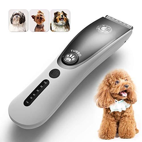 Haarschneidemaschine Für Tiere,Wahl HaarschneiderHunde Haarschneidemaschinen Geräuscharme Haustier-Trimmer Schnurlose Haarschneidemaschinen Hund und Katze