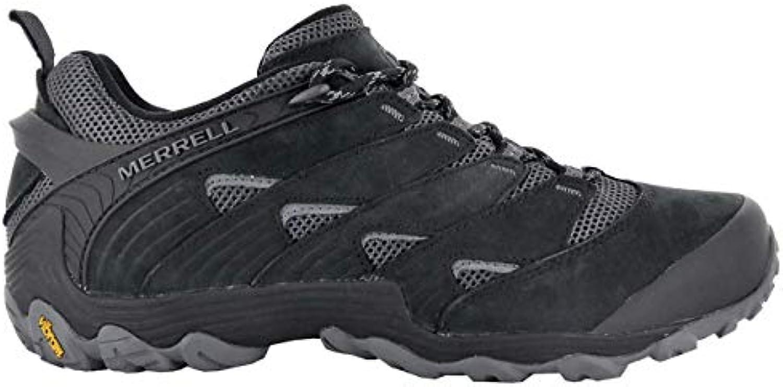 Merrell Chameleon 7 Low Uomo Outdoor Calzature Nero Scarpe da Uomo scarpe da ginnastica Top | Prestazioni Superiori  | Sig/Sig Ra Scarpa