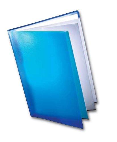 West A2 Adjustable Capacity Course Book Blue - A2 Klarsichthülle