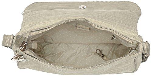 Borsa Messenger Kipling Donna Earthbeat M, 30x22,5x0,1 Cm Bianco (crema Dazz)