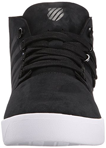 K-Swiss D R Cinch Chukka, Baskets Basses homme Schwarz (Black/white 002)