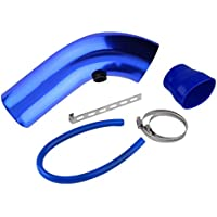 Kit de flujo de alimentación de tubo de Alumimum de admisión de aire de automóvil de