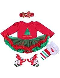 ab7a717b2822c BabyPreg Niñas bebés Mi Primera Navidad Traje de Santa del Partido del ...