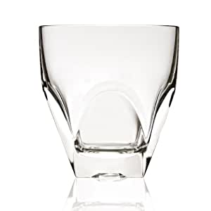 Lorren Home Trends Diamante Collection Tall Drinking Glass by RCR Italy