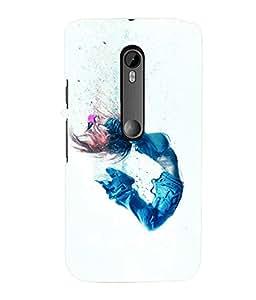 printtech Cool Dance girl Back Case Cover for Motorola Moto G3::Motorola Moto G (3rd Gen)