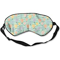 Colorful Hot Air Balloon Natural Silk Sleep Mask Comfortable Smooth Blindfold for Travel, Relax preisvergleich bei billige-tabletten.eu