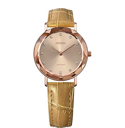Jowissa Aura Swiss J5.638.M - Reloj de Pulsera para Mujer, Color Rosa