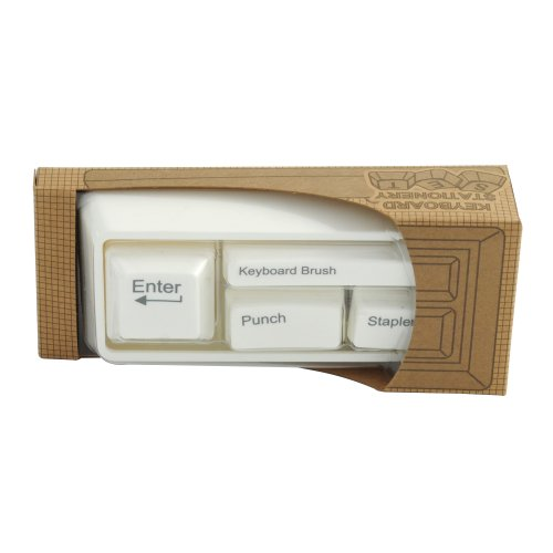 Keyboard Desk Tidy - White