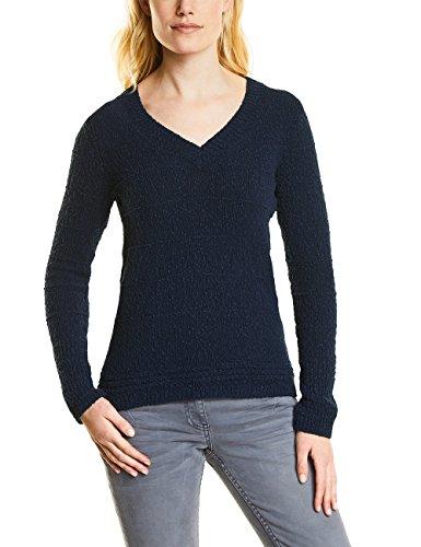 Cecil Damen 300544 Pullover, deep Blue, X-Large -