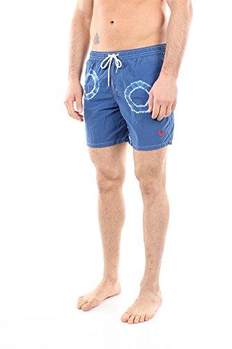 30802073V0032 Fred Perry Homme Coton Bleu Bleu