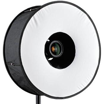 RoundFlash Magnetic Black Ringblitz-Diffuser für Aufsteckblitze Mobile Softbox 45 cm