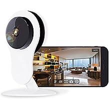 Netvue Cámara IP Full HD 1080P de Alta Definición, WiFi Wireless Casa de Seguridad de la Cámara con Audio de dos Vías, Detección Inteligente de Movimiento, Cámara de Visión Nocturna