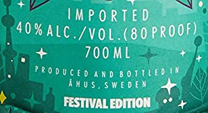 Absolut Vodka Original 0,7L - Lollapalooza Festival Edition