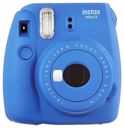 Fujifilm Instax Mini 9 Instant Camera (Cobalt Blue)