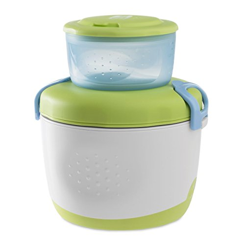 Chicco Easy Meal - Set Termo papilla con termo, recipiente y cuchara, 350ml, 6m+