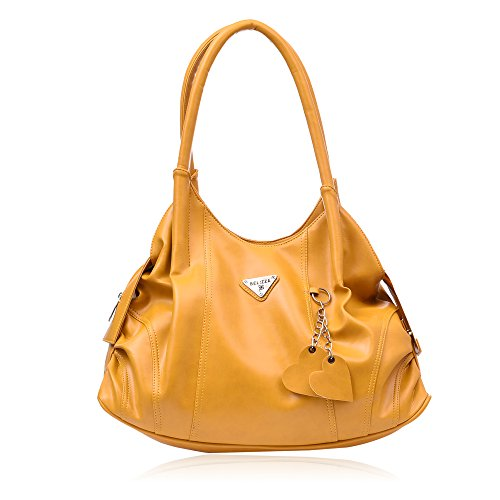 Belizza Women\'s Daisy Yellow Handbag (TYM-4)