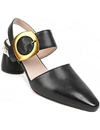 596eac8270 Zapatos de Mujer Sandalias de Confort de Verano de Cuero de PU Sandalias y  Pantuflas de